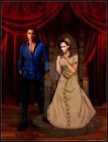 Angelicus and makaila by TwilightDesigns