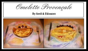 Omelette Provencale by HuoXingC