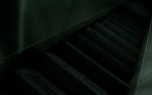Escalator wallpaper by oyvindronning