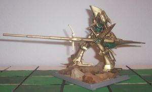 Knight of Gold Buster Launcher by HDorsettcase