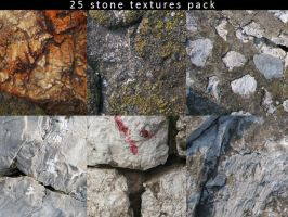 25 Stone Textures Pack by Mish-A-Man