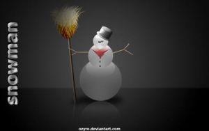 snowman by ozyre