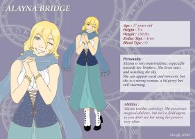 ALAYNA BRIDGE by Mizuffy