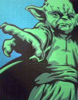 Yoda Duct Tape Art by DuctTapeDesigns