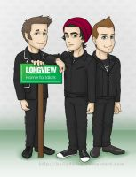 Green Day - Longview - Home for Idiots by kelly42fox