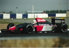 Gabriele Tarquini (Great Britain Test 1992) by F1-history