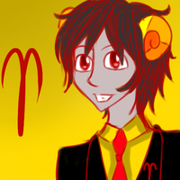 Male Aradia by strideypie