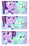 Lyra Heartstrings' Hands-on Experience by dm29