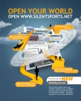 Silent Sports house ad by TheMeEC