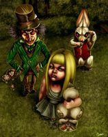 Alice in Wonderland by CharReed