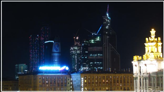 Moscowcity by Fillimon