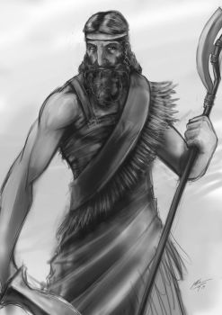 Sargon of Akkad by JHUBS