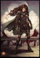 Meerwen from First Realm saga by Chaos-Draco