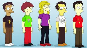 simpson big bang theory by Kirby-with-a-quiff