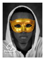 Solid Gold Mask by PrinceDamian92