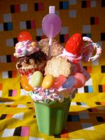 Candy loaded parfait by kawaiifriendscafe