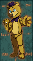 FNAF World - Are You Ready to Play Again? by Atlas-White
