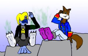 Carny and Karny's Socks by Zerrick