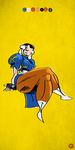 Sketch #17 (Chun-Li) by G-for-Galdelico