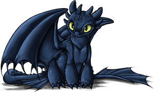 HTTYD - Toothless by Daffupanda