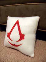 Assassins Creed Pillow by CynicalSniper