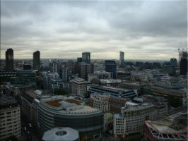 Over the roofs of London by iCoffeeholic