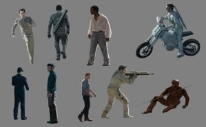 Character Studies by SymbioticFusion