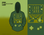 8-BIT SOUL Hoodie for the 8-bit challenge by Yellow-Slime