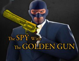 The Spy With The Golden Gun by twistedagent