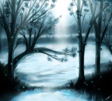 Bosque Azul by xcidx
