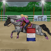 Spanky-BreedShowcaseWorking by painted-cowgirl