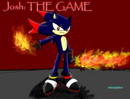 Gift: Josh the Hedgehog by sonicxamylover