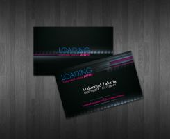 MZ Loading Card Design by ahmedelzahra