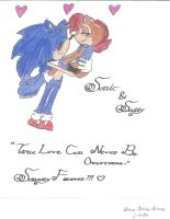 Sonic and Sally True Lovers by SonicSallyFan-1