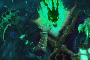 Thresh Fan art( MOUSE and PS ) by avi909025