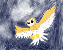 Barn Owl by YagamiDragon