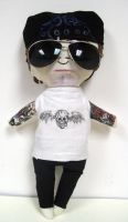 Matt Shadows Plushie by SkellingtonJess