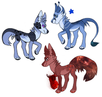 Space adoptebles {Paypal only}{Cheaper} by LoserDoge