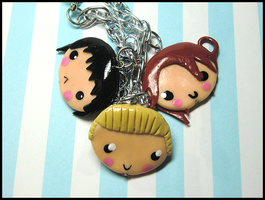 Hetalia Bracelet Commission by GrandmaThunderpants