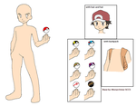 Male Pokemon Trainer -Base- by Monarchstar-SCCS