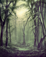 Forest of Silence by NecktiePom