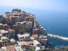 look to cinque terre by ingeline-art
