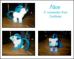 MLP Commission - Alice by marienoire