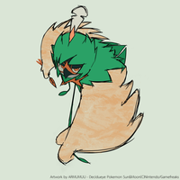 Decidueye - Pokemon Sun Moon by armumuu