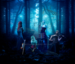 Gothic Quartet by Kizzarina