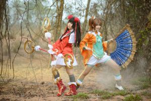 Dynasty Warriors - The Two Qiaos 03 by AmyDakota