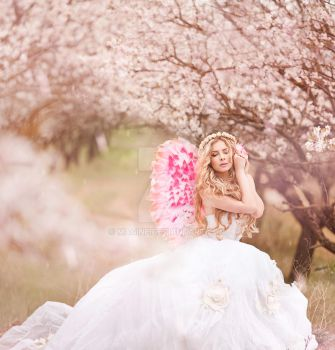 spring angel by magine