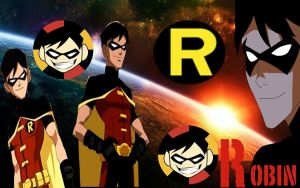 Young Justice-Robin by camacam11