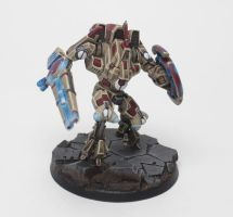 Tau Battlesuit Commander Shas'O R'Alai by jstncloud