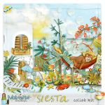 [SHARE SCRAPBOOK COLLECT #2] SIESTA by Scrapbook-Collect